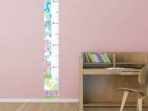 Removable Kute Kritters Growth Chart
