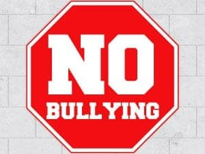 Stop Sign No Bullying