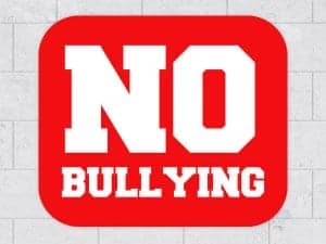 Rounded Rectangle No Bullying