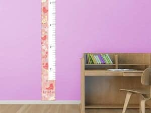 Birds Removable Growth Chart