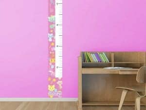 Krazy Kitties Removable Growth Chart