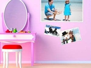 Bedroom Photo Stickers