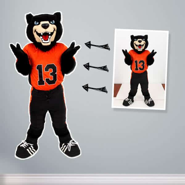 Restickable Photo Cutouts for your business