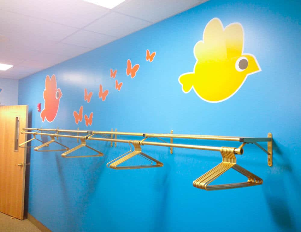 Custom Shaped Bird and Butterfly Wall Stickers