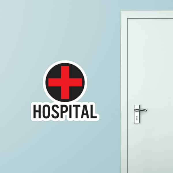Hospital Image Custom Wall Graphic