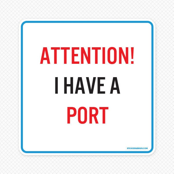 Port Wall Graphic