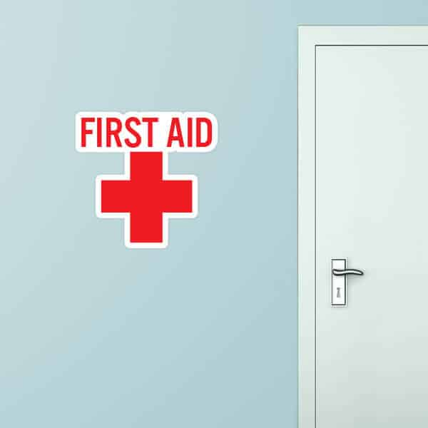 First Aid Custom Wall Graphic