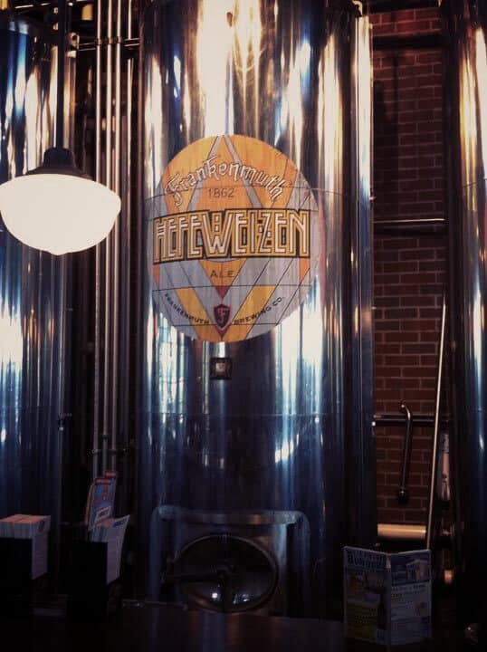 Removable Beer Vat Graphics