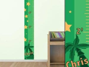 Palm Trees Growth Chart