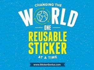 Change With Reusable Stickers