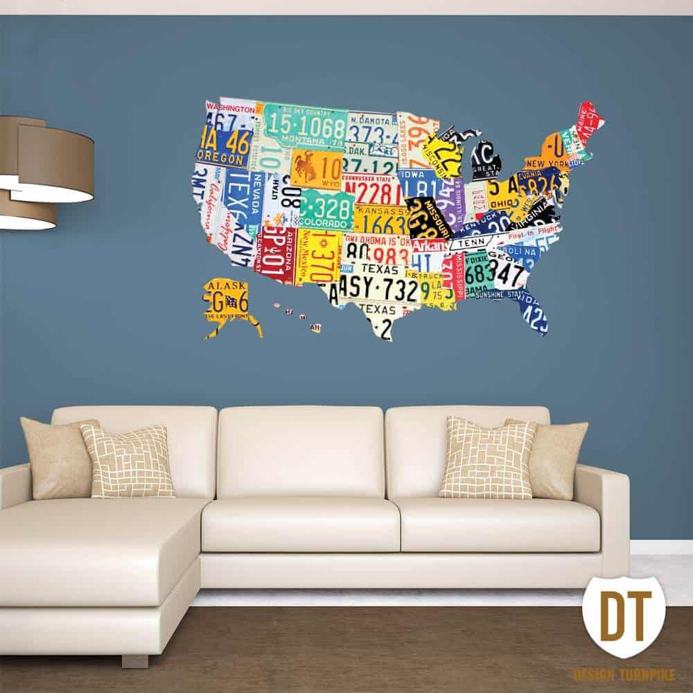Design Turnpike Wall Graphic
