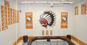 Brother Rice Locker Room Design