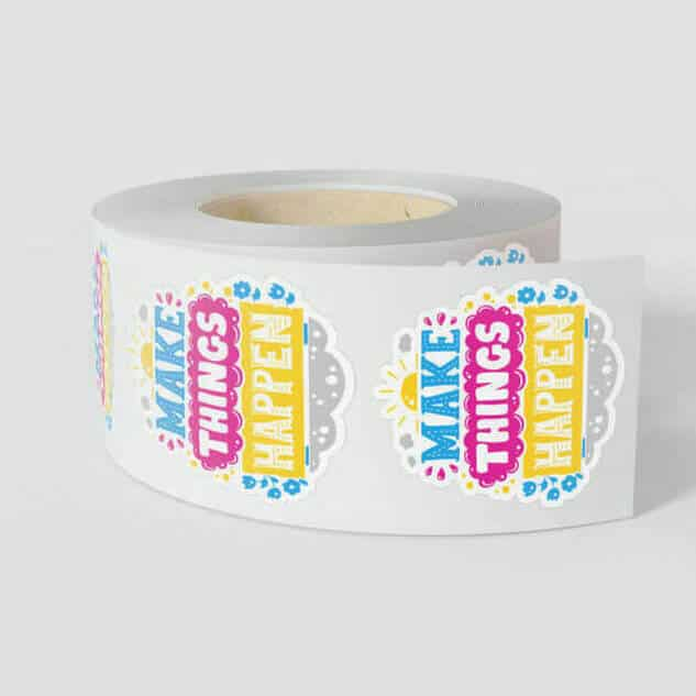 Custom Label Rolls With Stickers