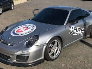Removable Sports Car Graphics